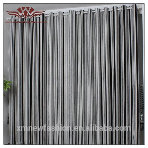 Awning Stripe Curtains by Modern Curtains For Living Room Grommet Stitch Window