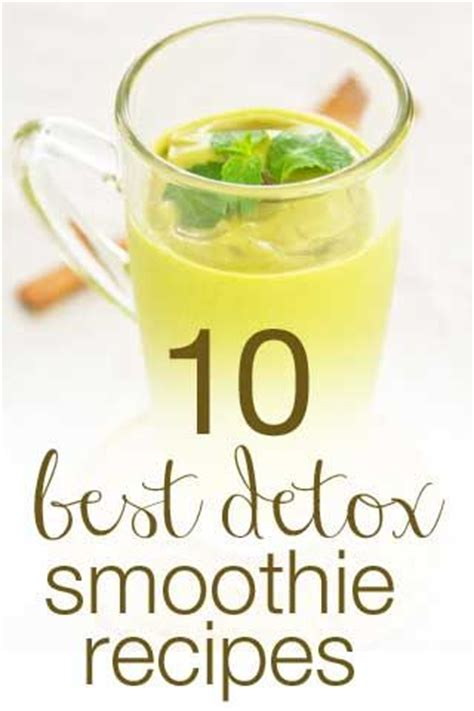 Healthy Breakfast Detox Smoothies by 10 Best Healthy Detox Smoothie Recipes Recipes To Try