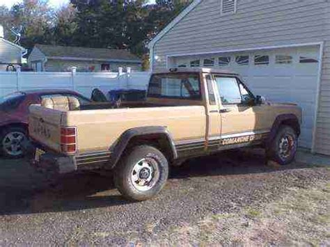 comanche jeep 4 door find used 1988 jeep comanche base standard cab 2