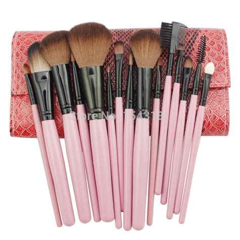 Toiletry Kit Brush Make Up 15 Set professional 15 pcs makeup brush set tools make up