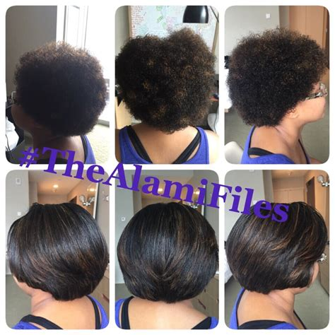 short pressed hairstyles natural hair silk press yelp