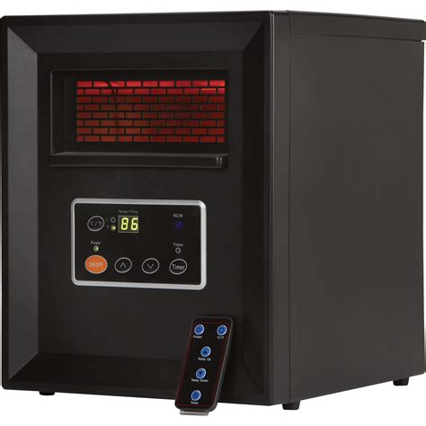 comfort zone heater comfort zone infrared quartz heater 3413 btu 1000 watts