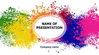 colorful powerpoint templates free free colorful powerpoint template for presentation