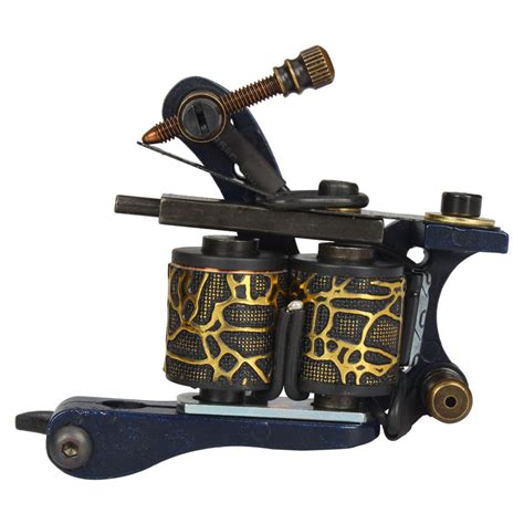 new empaistic tattoo machines liner shader gun a14007 new pro tattoo machine gun shader liner 10 wrap coils