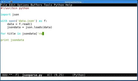 python tutorial and exles json module python 3 phpsourcecode net