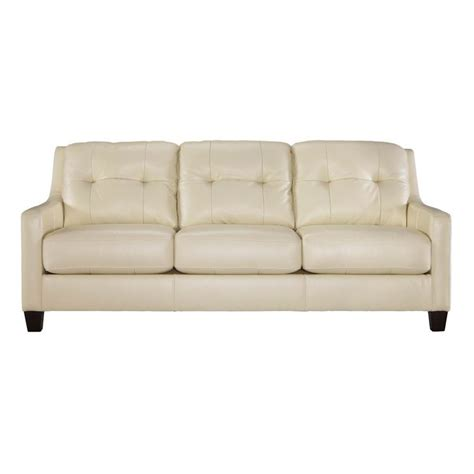 creme sofa cream leather sofas divani casa suzanne clic cream leather
