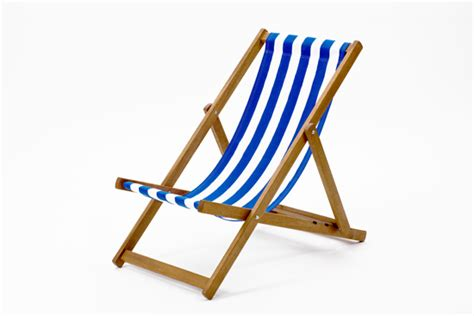 blue and white striped deck chairs cotton deckchair folding chair seat seaside portable