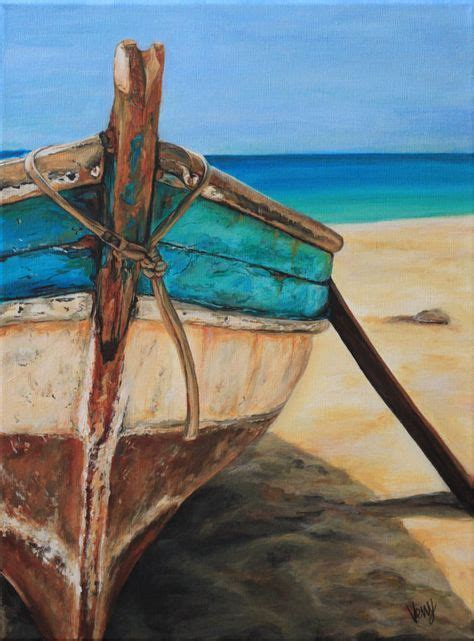 boat on beach drawing beginners paintings of boats and the sea google search