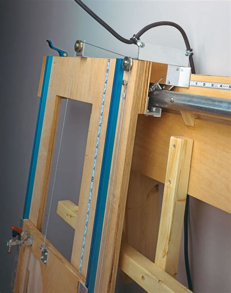 sliding carriage panel  woodworking project
