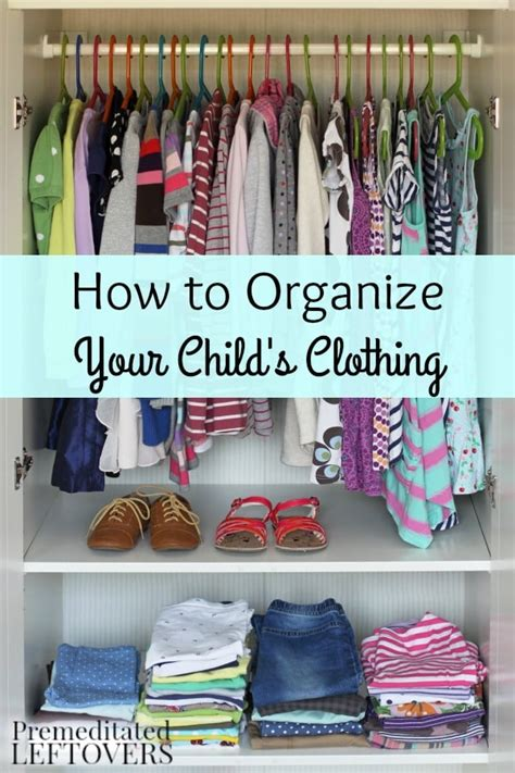 how to organize clothes how to organize your child s clothing