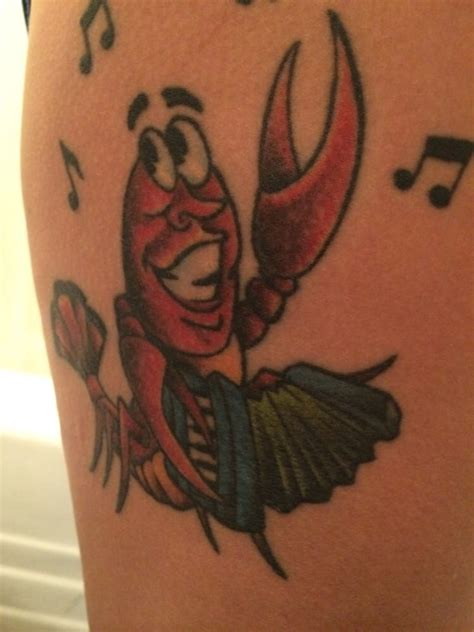 10th street tattoo crawfish an accordion an ode to my cajun heritage