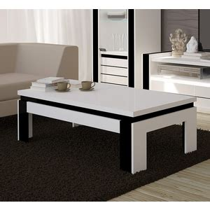 Table Basse A 189 by Table Basse Rectangulaire Blanc Tables Basses Comparer