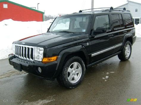2007 Black Jeep Commander 2007 Black Clearcoat Jeep Commander Sport 4x4 26068234