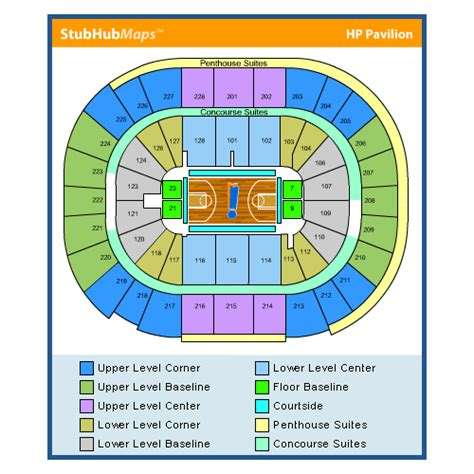san jose sap map sap center events and concerts in san jose sap center