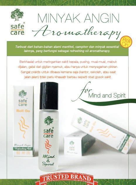 Obat Minyak Angin Herbal Aromaterapi Roll On Safe Care safecare yogyakarta minyak angin aromatherapy safecare