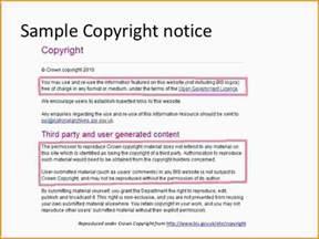 7 copyright notice example paradochart