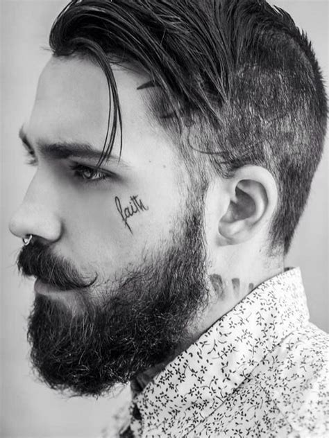 face tattoos for men 65 unique designs and ideas enjoy