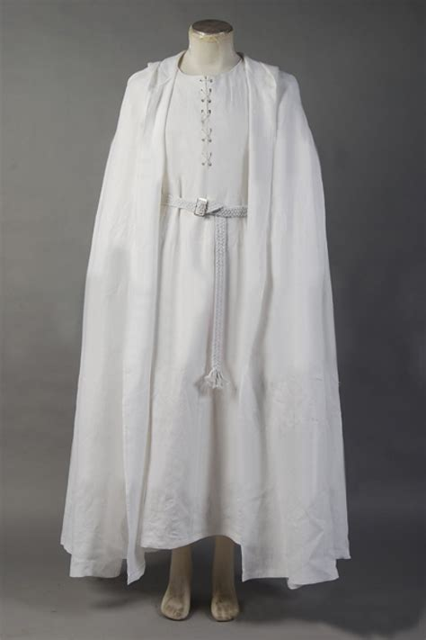 costume robe free shipping the lord of the rings gandalf costume white