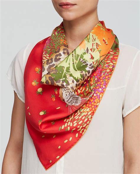 Square Segiempat Jaguar Silk salvatore ferragamo foulard gerry jaguar square silk scarf it s a wrap silk