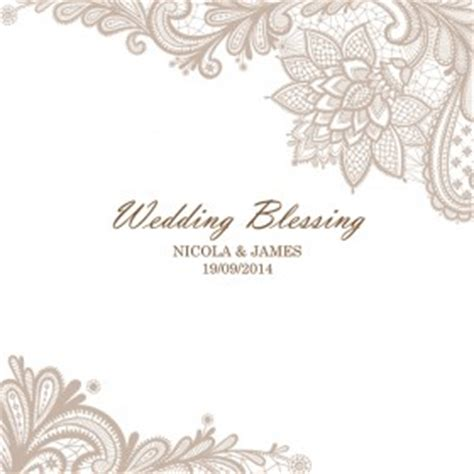 Wedding Blessing Uk by Wedding Blessing Invitations Personalised To Suit Your