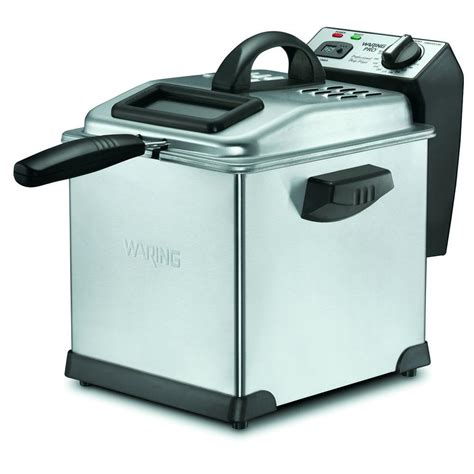 waring pro digital 3 qt fryer df175 the home depot