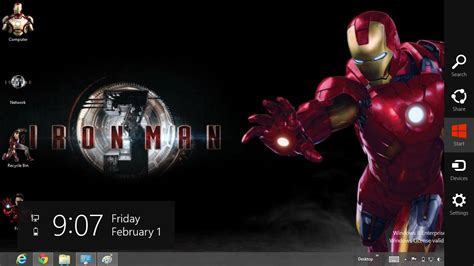 themes for windows 7 iron man iron man 3 theme for windows 8 ouo themes