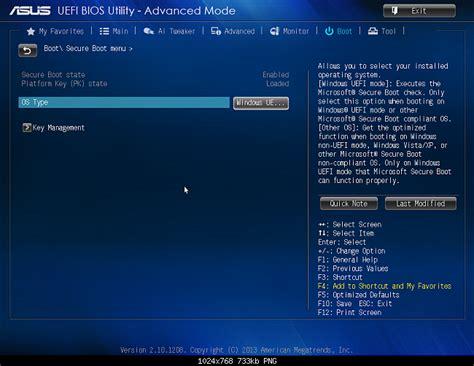 Asus Laptop Bios Uefi Boot disable secure boot asus uefi bios utility