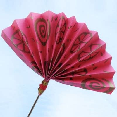 How To Make A Japanese Fan Out Of Paper - evantaiul itsy bitsy