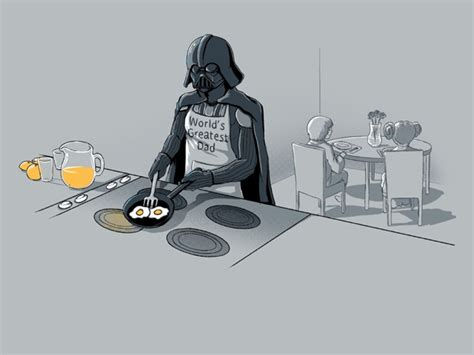 darth vader as the world s greatest dad