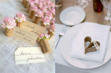 canzoni ingresso sposi ristorante segnaposto per il matrimonio fai da te tante idee chic ma