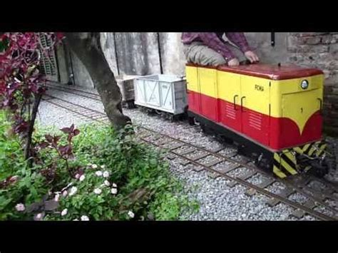 ride on backyard trains ride on backyard railroad 1 switching youtube