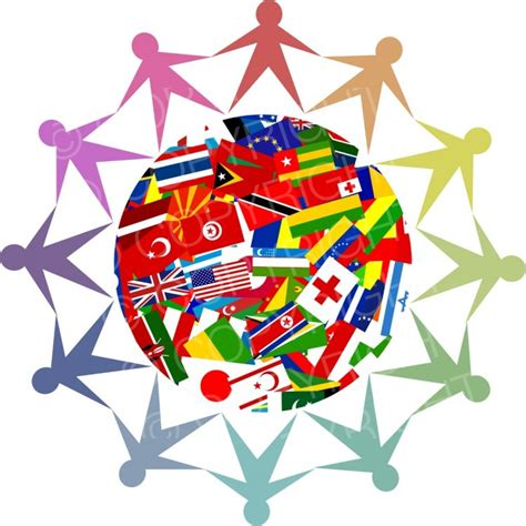 flags of the world clipart diverse world flag globe clipart illustration prawny
