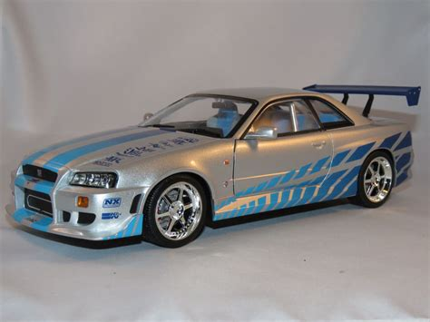 nissan r34 fast and furious greenlight nissan skyline gt r34 2 fast 2 furious brian