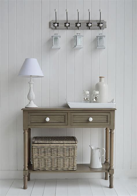 newport french grey console table   england