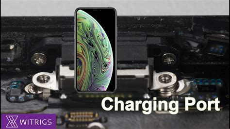 iphone xs charging port replacement tutorial