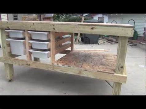 how to build a craft table building an and craft table