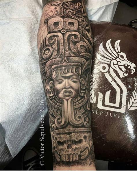 azteca tattoos best 25 azteca ideas on aztec