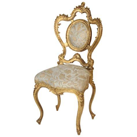stuhl rokoko rococo revival vanity chair at 1stdibs