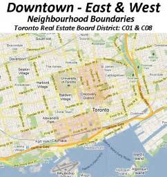 map of downtown toronto canada downtown toronto homes schools in downtown toronto mls