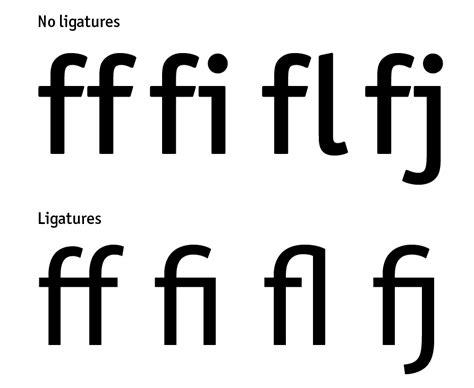 typography ligature typography 101 designfestival