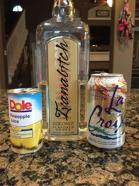vodka soda pina croixlada 6 oz coconut la croix 3 oz pineapple