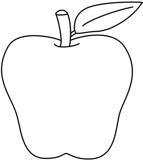 coloring page apples az coloring pages