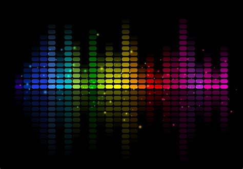 music equalizer abstract free vector music equalizer download free
