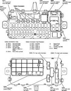 do you a printable 1992 honda civic 4 door fuse box