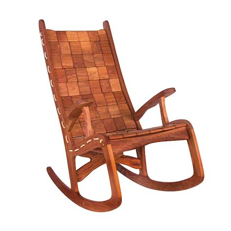 Vermont Rocking Chair by American Black Cherry Wood Vermont Woods Studios