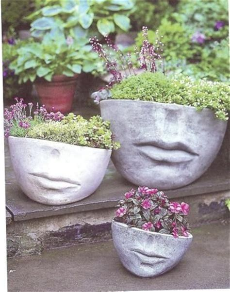 Whimsical Planters by Whimsical Garden Ideas Photograph Planters