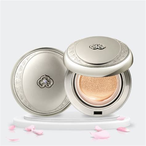 Blue Bb Cushion Makeup Color White the history of whoo radiant white moisture cushion