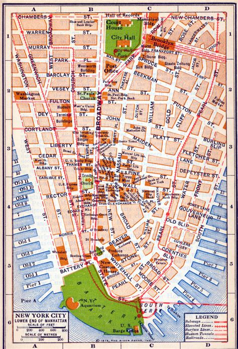 map nyc historic maps of nyc