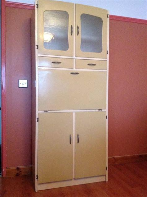 vintage retro kitchen cabinet cupboard larder kitchenette vintage retro 1950s 1960s kitchen larder pantry cupboard