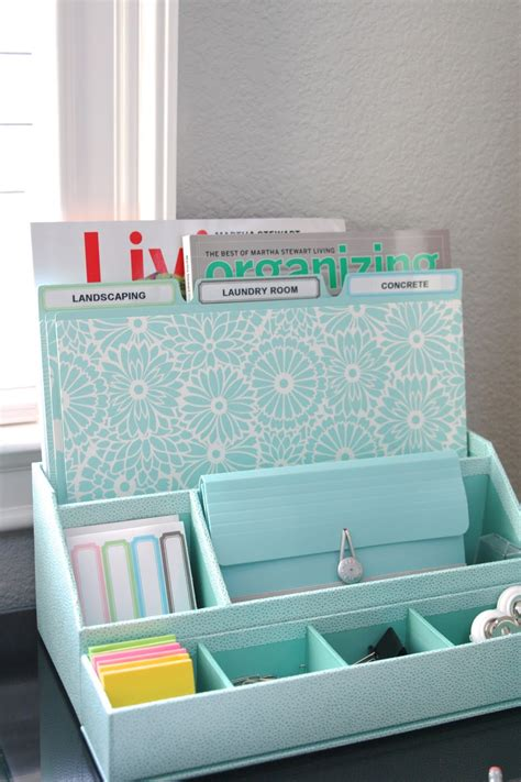 Martha Stewart Desk Organizers Organized Desktop With Martha Stewart Simply Organized